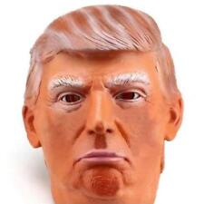 Donald Trump Halloween Latex Mask Most Realistic Cosplay Full-head Adult Mask KY