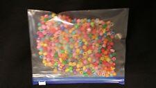 100 ZIPPER BAGS CLEAR PLASTIC POLYBAGS SIZE 20CM X 15CM (S)