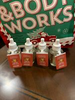 4 X BATH & BODY WORKS WALLFLOWER REFILL BULBS - PUMPKIN SPICE LATTE