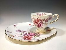 Tuscan Fine England Bone China Fragrance Pattern Cup And Snack Plate