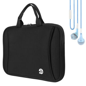"""Tablet Sleeve Pouch Carry Bag Case Cover For 10.1"""" Samsung Galaxy Tab A+Earphone"""