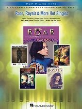 Pop Piano Hits - Roar, Royals & More Easy Piano Book *NEW* Sheet Music, Lorde