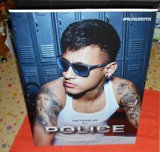 Neymar Jr - présentoir PLV display 2 faces - Police #policelifestyle 41x30 cm,