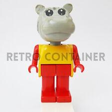 LEGO Minifigures - 1x fab6e - Hippo 1 - Fabuland Omino Minifig Set 3715 3787