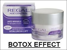 Regal controllo età COLLAGENE ANTIRUGHE CREMA NOTTE tonificazione LIFT HIGH QUALITY