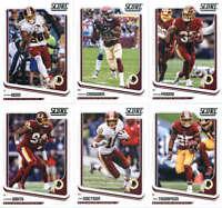 2018 Score Washington Redskins Veteran Team Set of 11 Cards