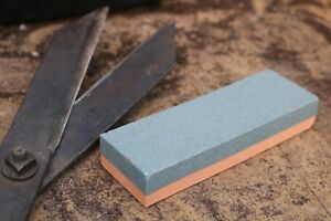 Sharpening Stone Whetstone. Dual Sides. Allotment Garden Tools