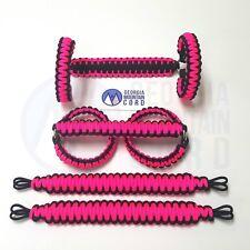 Jeep Grab Handle Paracord Roll-bar + Headrest JK/JKU: custom-you pick colors