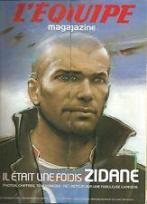 SUPERBE EQUIPE MAGAZINE 15 JUILLET 2006 ZIDANE BORDEAUX JUVE FRANCE REAL MADRID