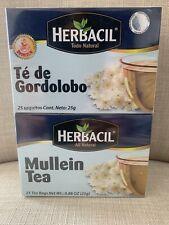 Te de Gordolobo 2 Pack 50 Tea Bags Mullein Tea Natural Mullein Flower Gordolobo