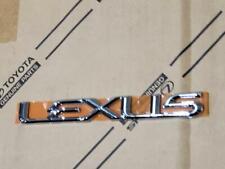 03-09  NEW LEXUS GX470 REAR TRUNK CHROME WORD EMBLEM 2003 2004 2005 2006