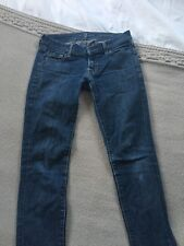 Ladies 7 For All Mankind Roxanne Skinny Jeans Size 25
