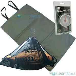 Unhooking Mat Weigh Sling and Scales 50lb x 8oz Carp Fishing Landing Mat