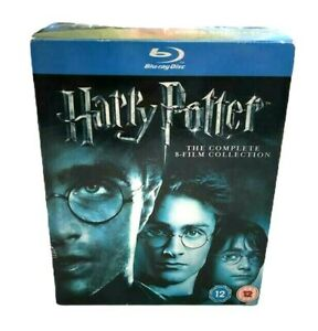 Harry Potter Complete 8 Film Collection 11 Disc Blu Ray Box Set Region Free