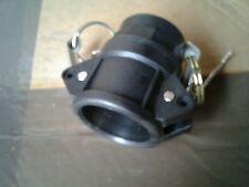 "1.25"" D-125 Cam lock 125D Polypropylene Poly Female NPT x Female camlock Adapter"