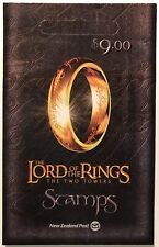 NEW ZEALAND LORD OF THE RINGS THE TWO TOWERS STAMPS BOOKLET 2002 MNH FRODO