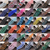 New Wholesale Making Natural Gemstone Round Spacer Loose Beads 4MM 6MM 8MM 10MM