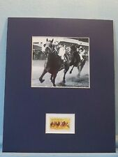 Honoring the Great Race Horse - Seabiscuit honored by the Horse Racing stamp
