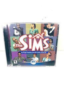 The Sims 1 Original Game PC Computer Game 2000 EA People Simulator W/ CD Key