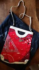 NWT Armani Jeans Red Patent Leather Purse