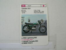 71-MOTORRADER 3B YAMAHA XS 1 653 CC   QUARTETT CARD