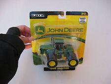 NEW JOHN DEERE 4WD TRACTOR w TRIPLES Front & Rear green 1:64 scale ERTL SEALED!
