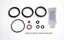 SOLAC Espression CA4805 CA4806 CA4815 CA4816 Brühgruppe Dichtsatz O-Ringe + Fett