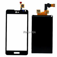 USA OEM Digitizer Touch Screen + LCD Display Screen Lens for LG Optimus F6 D500