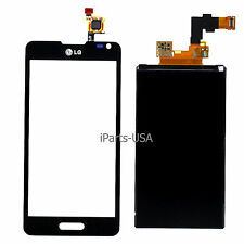 USA OEM Digitizer Touch + LCD Display Screen Lens for LG Optimus F6 D505 MS500