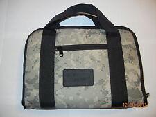 "Digital Camouflage Firearm Pistol Handgun Gun Padded Soft Case Bag 12"" X 9"""