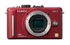 Panasonic LUMIX DMC-GF1 12.1 MP Digital Camera - Red (Body Only)