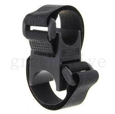 Universal Bicycle Flashlight Torch Handle Bar Holder Mount Clamp Mounting_US