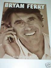 BRYAN FERRY: World Tour 2003 - TOUR PROGRAMME ** NEW **