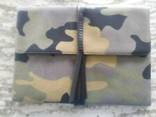 Stella & Dot Bellamy Camo Clutch Mint Never Used FREE SHIPPING!