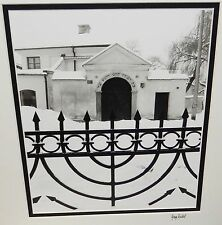 """GARRY SEIDEL """"VIEW OF REMUH SYNAGOGUE"""" HAND SIGNED PHOTOGRAPH"""