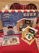 XINGBAO HOME FURNISHING BLOX SET XB-01401 BEDROOM BUILDING BRICKS BLOCKS