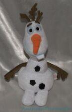 "2010 Ty Beanie Babies DISNEY SPARKLE Plush 8"" GLITTERY FROZEN OLAF The SNOWMAN"