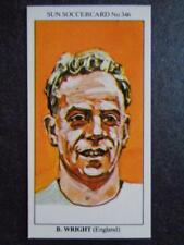 LE SOLEIL soccercards 1978-79 - BILLY WRIGHT - ANGLETERRE #346