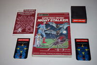 Night Stalker Sears Intellivision Video Game Complete in Box