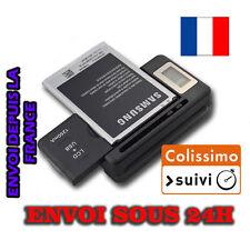 Chargeur de Batterie Universel Port USB pour Smartphone et Appareil photo