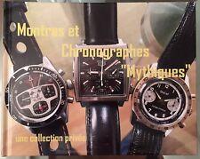"""Livre (version FR) """"Montres & Chronographes Mythiques"""" Vintage, Sport, Militaire"""