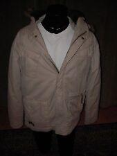 Billabong Parka Hoodie Size M Medium Faux Fur Warm Fresh NWT Leaves Extra Pocket