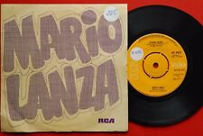 "MARIO LANZA STRANGE MUSIC/I LOVE THEE 1971 RARE INDIAN 7"" PS"