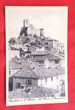 Cartolina SAN MARINO La Rocca e L'Osservatorio Anni '20 (non viaggiata)    06/17