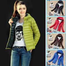 Fashion Women's Casual Hooded Winter Warm Down Parka Jacket Coats Coat Outwear