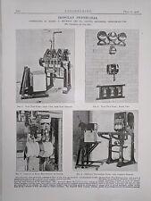 Ironclad Switch Gear: From Hebburn-On-Tyne: 1908 Engineering Magazine Print