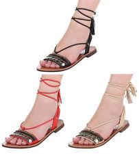 Markenlose Damen-Sandalen & -Badeschuhe mit Blockabsatz für Kleiner Absatz (Kleiner als 3 cm)