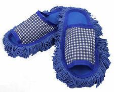 Staubtuch Hausschuhe Putz Hausschuhe Mop Schuhe Sohle Baumwolle Gr.37-39  R152