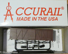 Accurail HO #1150 Undecorated 36' Fowler Wood Boxcar