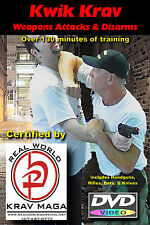 """Weapons Attacks Plus Knife Disarms"" Easy to learn, Krav Maga Video 3 DVD Set"